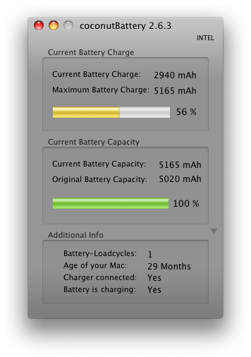 New Battery Stats