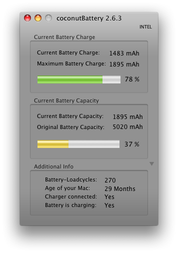 Old Battery Stats