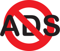No Ads Icon