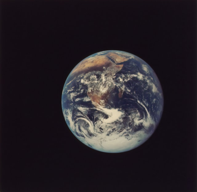 Full Disk Earth - Apollo 17, 1972