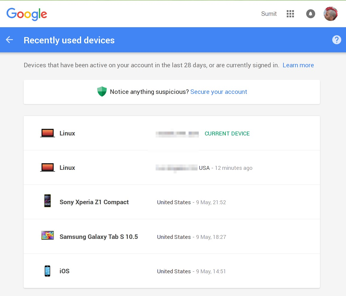 how to add a device on my google account