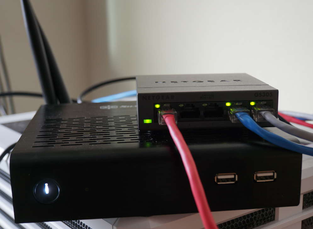 Thin-ITX Router