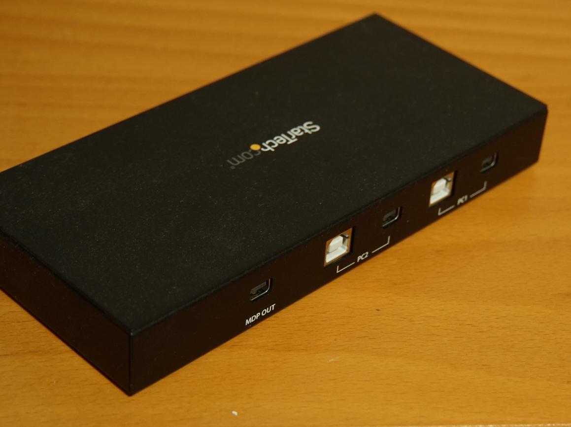 StarTech SV231MDPU2 KVM Switch