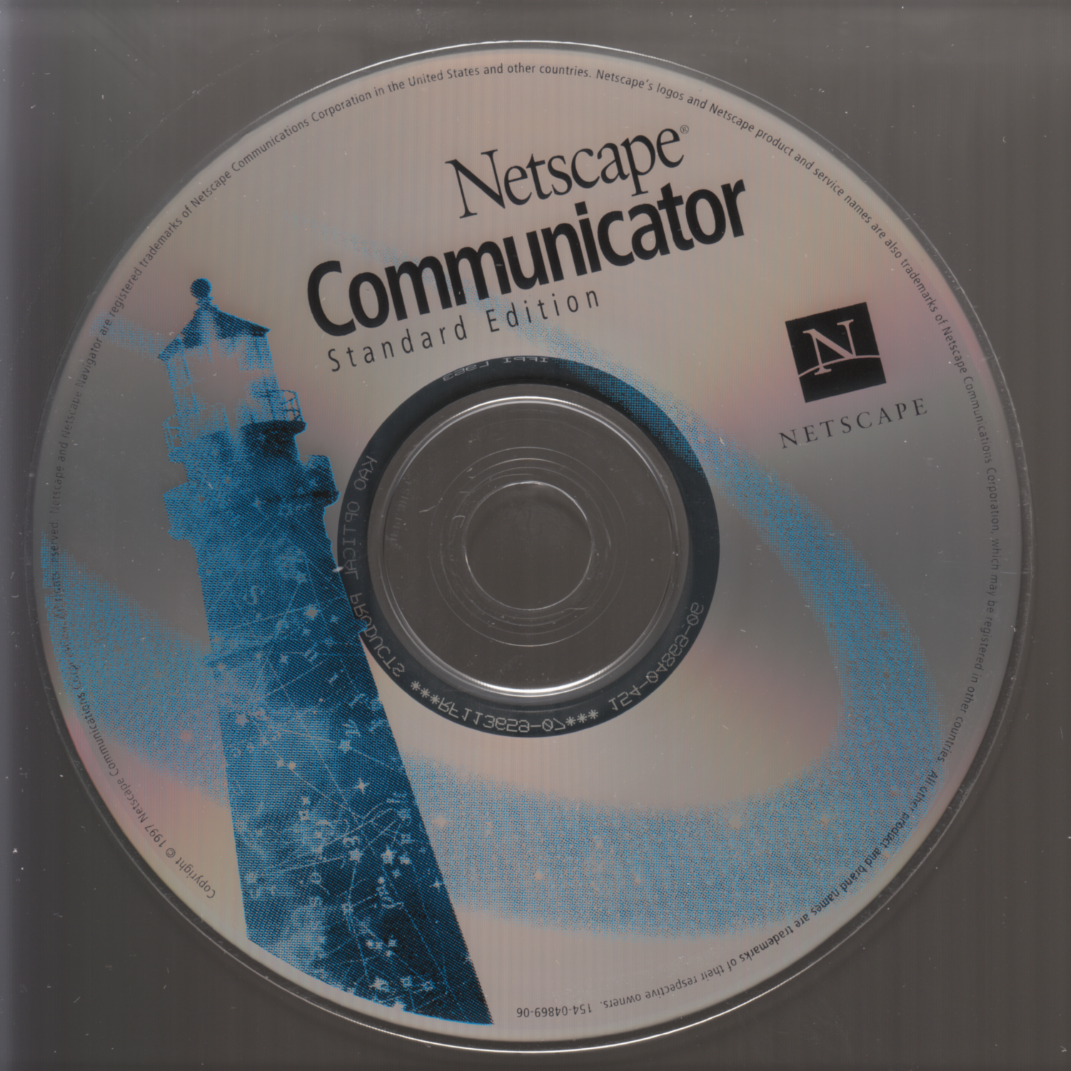Photo of Netscape Communicator Standard Edition CD-ROM